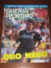 GUERIN SPORTIVO=N°37 1990=ROBERTO BAGGIO COVER=1° GIORNATA CAMPIONATO 90/91