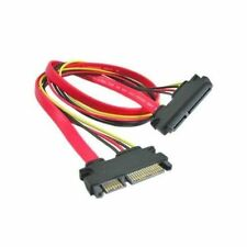 22 Pin SATA Male to Female 7+15 pin 5 Wire Power Data Combo Extension Cable
