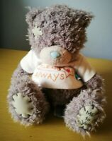 Teddy Bear Me to You Tatty  wearing t-shirt 'Friends Always'in good condition