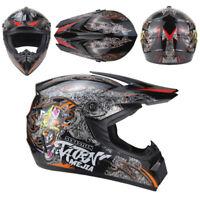 Motorcross Dirt Bike ATV Off Road MTB Motorcycle Helmet Racing Full Face DOT M