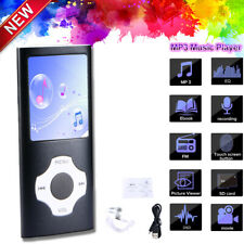 64GB Portable Aluminum Music MP4 MP3 Player Lossless Sound Recorder + Earphone