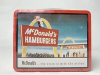 McDonalds Limited Edition Collector's Tin Lunch Box Sealed 1998