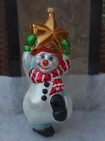 Christopher Radko Swing On A Star Christmas Holiday X-mas Ornament NIB! Rare