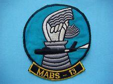 VIETNAM WAR PATCH USMC MARINE MABS - 13