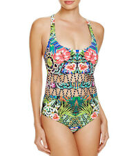 NEW Red Carter Shangri la Cutout Maillot One Piece Swimsuit XS XSmall $185