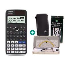 Casio fx 991 de x calculadora + funda protectora y geometrieset