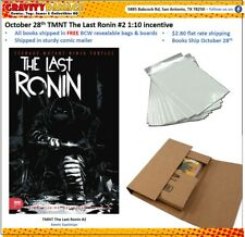 IDW TMNT THE LAST RONIN #2 1:10 INCENTIVE PRE-SALE October 28TH FREE BAG & BOARD