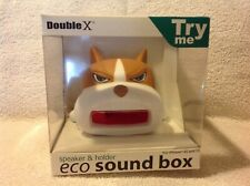 Double X Eco sound box speaker &a holder-- for IPhone 4,4s,5,5s Dog