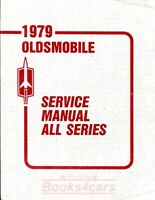 SHOP MANUAL SERVICE REPAIR 1979 OLDSMOBILE BOOK HAYNES CHILTON