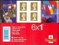GB 2011 Olympics/Paralympics/Sports/Rugby/Sailing/Disabled 6v bklt (n32602b)