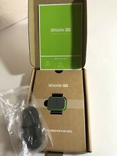 Whistle FIT Activity Monitor For Pets Green W/ USB Cable New