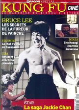 BRUCE LEE_JACKIE CHAN_YOJIMBO_NINJA_MILA JOVOVICH Cine KUNG FU Mag NEW ©TBC