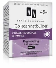 AA Dermo Technology 45+ Collagen Net Builder Regenerating Lifting Night Cream