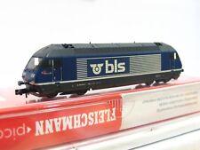 Fleischmann N 731304 E-Lok RE 465 018-0 BLS DSS OVP (V5764)