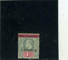 New Hebrides (Br) 1908  Scott# 9 og hinged