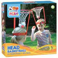 Kids Basketball Set Head Fun Stand Net Toy Indoor Outdoor Game