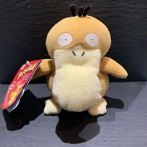 Hasbro Pokémon Psyduck Plushie Soft Toy || 1999 || With Tags || 6""