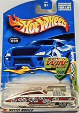 Hot Wheels 099 Evil Twin, 2002 Grave Rave 1/4, Variant  Card Race & Win,  Mint
