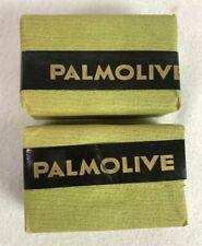 Colgate Palmolive Peet Bar Soap NOS Circa 1940's Jersey City NJ Lot of 2