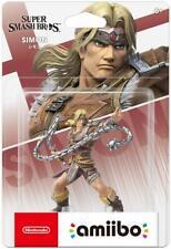Nuovo Nintendo Amiibo Simon Super Smash Brothers Giappone Ufficiale Importazione