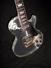 Plexi Lucite LP-style electric guitar, Dan Armstrong-style custom