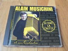 Alain Musichini : A fond la caisse - CD Accordéon 2000