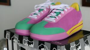 Men's Billionaire Boys Club ICE CREAM Board Flip Pink & Green Reebok Shoes