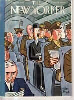 1943 New Yorker September 18 -  Surrounded by Army on the train to Connecticut