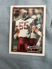 1991 Topps Football Card #514 Anthony Bell