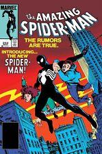 Amazing Spider-Man 252 Facsimile Edition presale 4/17/19 NM 1st app Black Suit