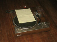 Pioneer PL-530 Stereo Turntable Pro Refurb New Cover Direct Drive Record Player