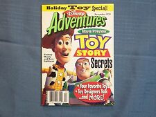 Magazine Toy Story Secrets December 1995 Holiday Disney Movie Preview Buzz Light