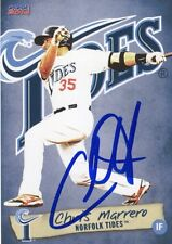 Chris Marrero 2014 Norfolk Tides Signed Card