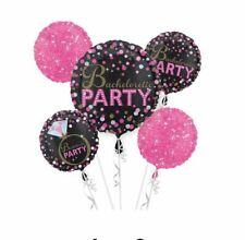 Anagram Pink Black Bachelorette Sassy Party 5 Balloon Bouquet Kit Bridal Shower