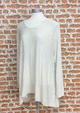 Eileen Fisher fine Organic Mélange De Lin Swing Tunique Taille: XL