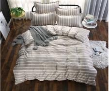 4pcs Children Adult Bed Cover Set Cartoon Duvet Geometric Sheets and Pillowcases