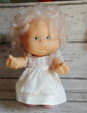 poupée famosa vintage bonde cheveux bouclée ventre rond robe d'origine