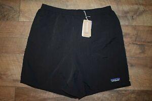"""Patagonia Men's Baggies Shorts - 5"""" Inseam 57021 Size Large (Black) NWT"""