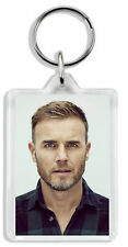 Gary Barlow (Take That)  Keyring / Bag Tag *Great Gift*