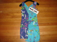 2011 VERSACE for H&M Womens Turquoise Floral Stampa Dress Size 2 B