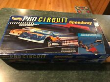 Vintage 1992 Mattel Hot Wheels Pro Circuit Speedway - Incomplete / For Parts