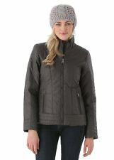 The North Face Insulated RUKA motorcyle style grey Coat Jacket Women's XS