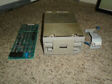 """DEC Digital RX50-AA 5-1/4"""" Dual Floppy Disk Drive with Card and Cable"""