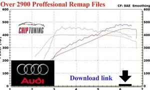 ECU Chip|tuning Tuned Files + Stage 1 > 2 = For AUDI Remap Pack Performance Map=