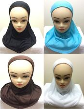 Womens Ladies Muslim Girls Islamic Head Scar Hijjab Scarf One Piece Stretcable