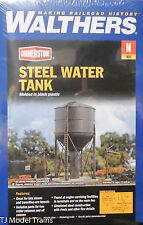 Walthers N #933-3817 Steel Water Tank (Plastic Building kit) N Scale