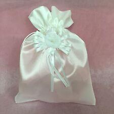 White Money Bag wedding favor
