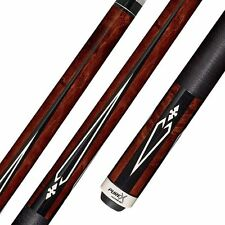 Pure X HXT15 Pool Cue Stick Walnut Stained + Kamui Tip + FREE CASE 18 19 20 21