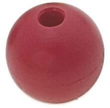 Pallina fermascotte Ø18mm scotta Ø5mm colore rosso | Marca Viadana | 53.51