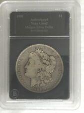 SUPER RARE - 1900 Morgan Silver Dollar - Authenticated and Very Good Grade